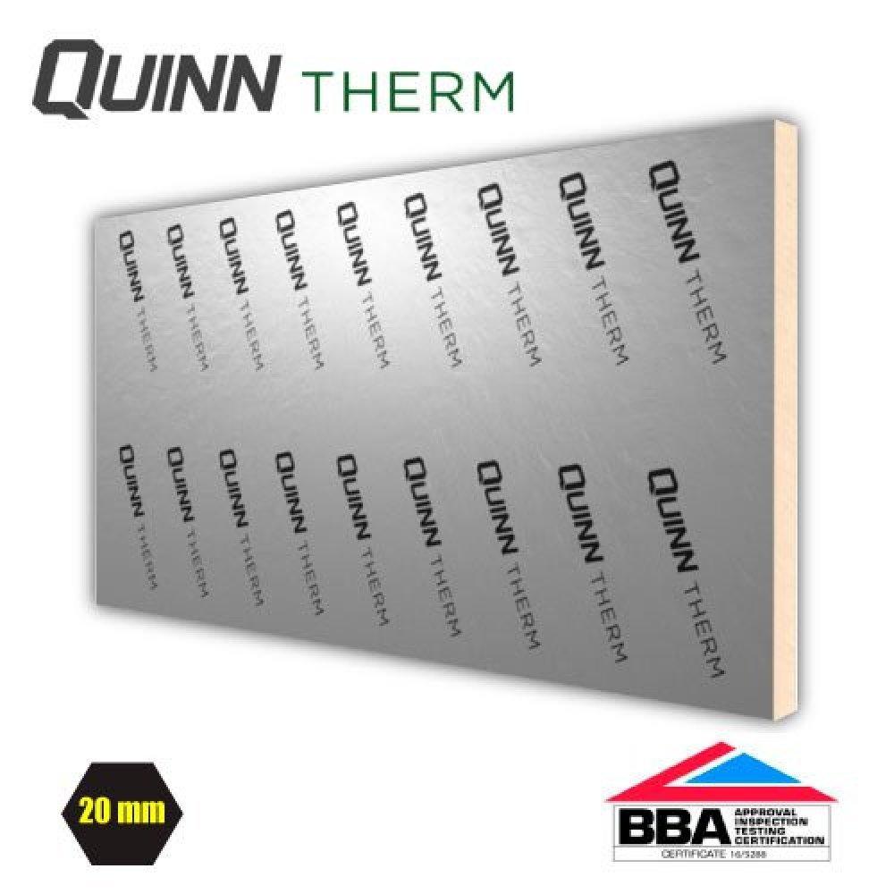 Kingspan Quinntherm PIR Insulation 2400x1200 20mm-150mm Celotex Ecotherm