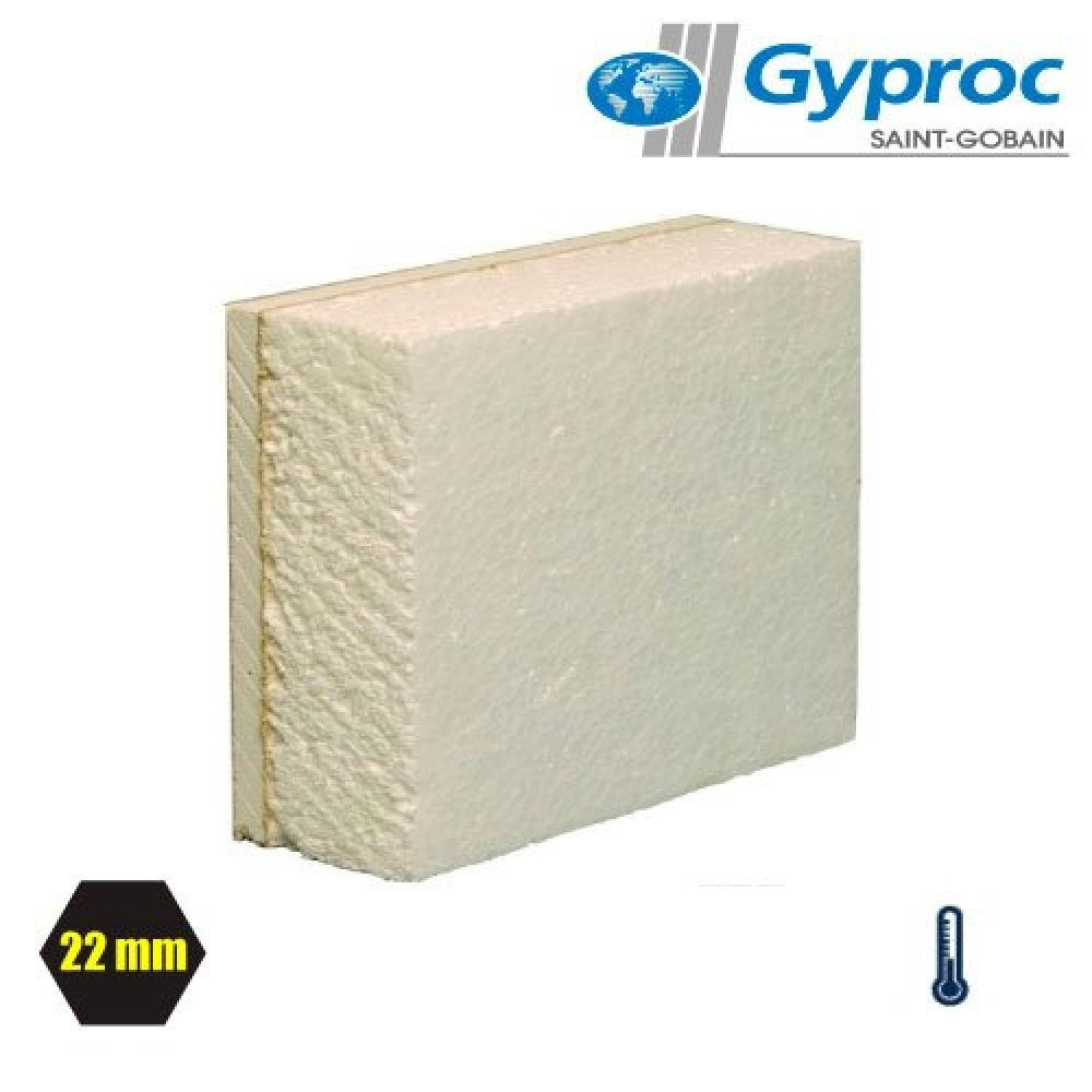 2400 X 1200MM THERMALINE BASIC THERMAL LAMINATE INSULATED PLASTERBOARD VARIOUS